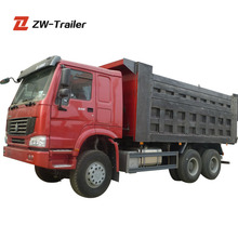 31Ton China 11 Tires Manual Transmission Howo New Tipper Trucks for Sale