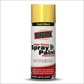 AEROPAK automatic Gold Color spray paint for all purpose use