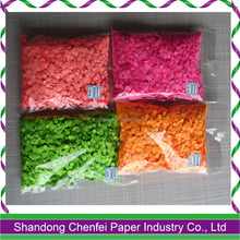 Wedding and Engagement Bright Color 8mm Paper Confetti for Sale