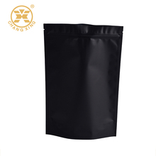 stand up matte black pouch bag for coffee or tea packaging(23 year manufacturer)