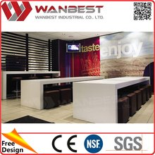 New product high-ranking marble top dining laminated table