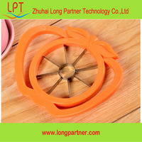 China lowest price fruit tools manual plastic apple core cutter
