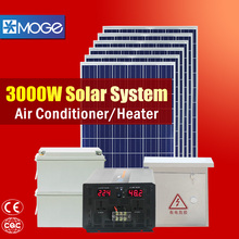 Moge home solar panel tracking system 3000w high configuration kit