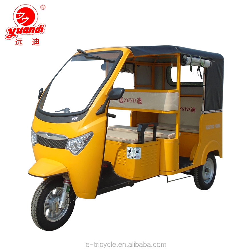 2018 New Product China Factory Price Adult Passenger Petrol Electric Tricycle for Sale