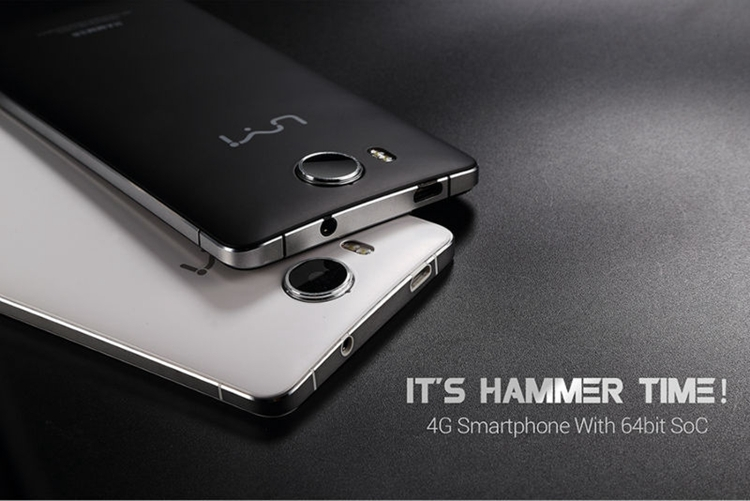 "Original UMI Hammer MTK6732 64Bit Quad Core 4G LTE Mobile Phone 5"" HD 1280x720 Dual Glass 2GB RAM 16GB ROM 13MP Camera"