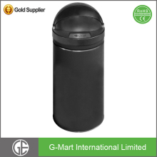 Touchless Trash Can Electronic Sensor Dustbin Automatic Garbage Bin with Black Lid for 42L or 11.1 Gallon