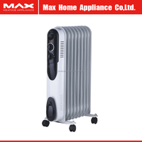 2500W portable oil filled radiator heater