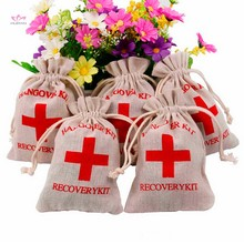 Wedding Favors And Gifts Guests First Aid Kit Bags Hangover Kit Bag