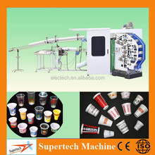 Fully Automatic Plastic Cup Bowl Curved Surface Printing Machine