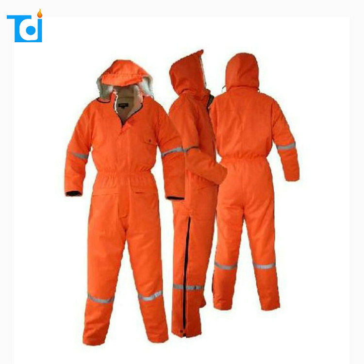 Hot selling wholesale cheap custom cold proof overalls