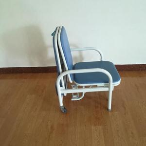 hospital furniture caring foldable cheap fold chair bed with top sale