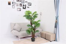 Newest selling different types striking outdoor garden decorative artificial plants