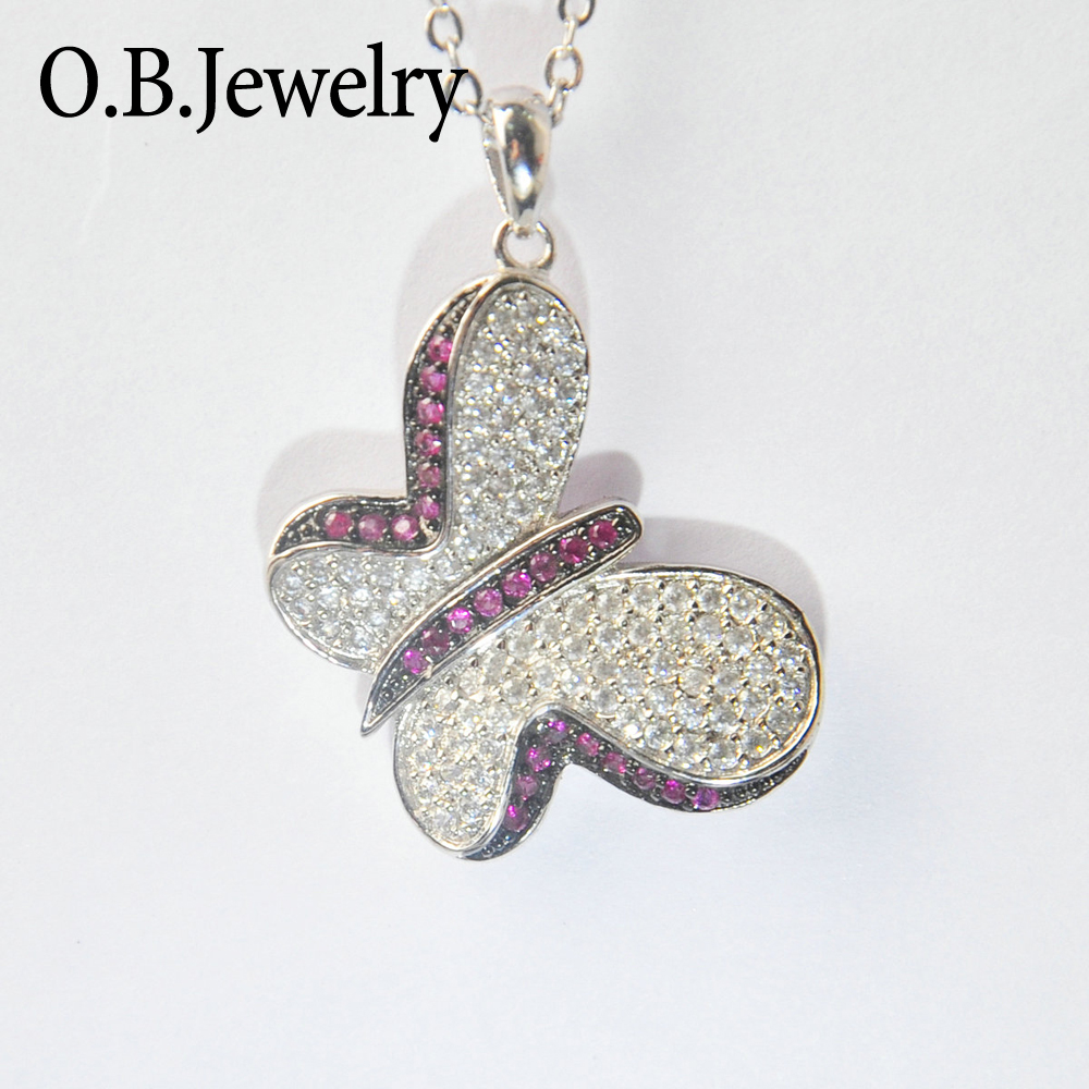 OB Jewelry-Brass material silver plating America jewelry Plain devil fish pendant