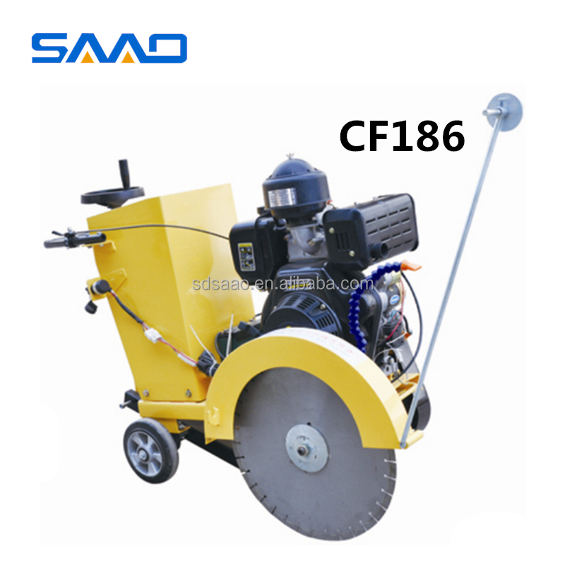 walk-behind concrete cutter road asphalt cutting machine with factory price SQG-500C