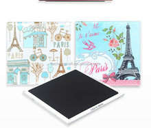 2018 hot selling promotion gift tin <strong>fridge</strong> <strong>magnet</strong> Paris Souvenir