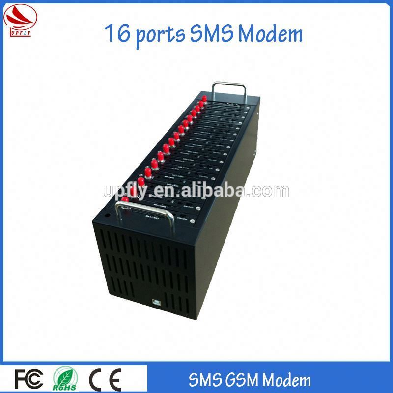 Good quality 16 ports 3g gsm modem wifi with usb/rs232/rj-45 interface