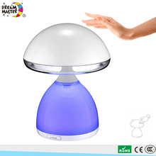 4.5W RGB LED Luminaire USB Port Rechargeable Battery Operated Wireless Crystal Table Lamp