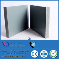 waterproof construction formwork board wood plastic composite pvc template