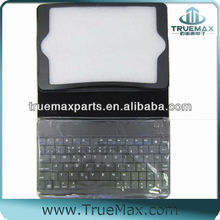 for iPad 3 Bluetooth Keyboard Case, Leahter Stand Case