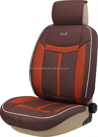 Fashion leather Car Seat Covers/patchwork leather auto seat cover