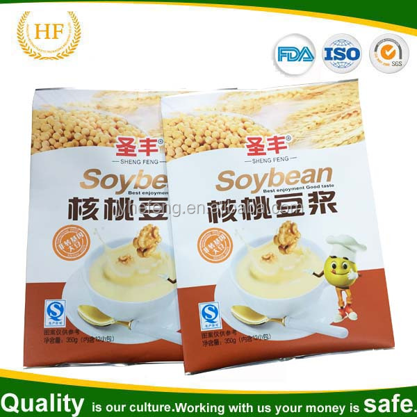 aluminum foil bag for soybean milk powder packaging