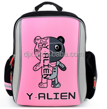 High quality children bags with trolly Fashion cute kids school bag/ school backpack with wheels