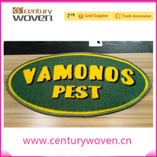 washable custom logo printed nylon floor mat