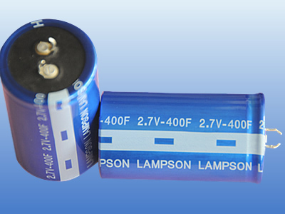 2.7V Cylindrical Super Capacitor; Ultra Electrolyte Capacitor; 400F Capacitor