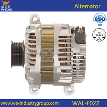 car alternator 12v, mitsubishi alternator 6E5T-10300-AB, 6E5T-10300-AD, 6E5Z-10346-AA 12662 Mitsubishi IR/IF