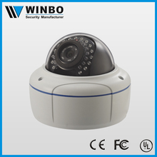 weatherproof digital high resolution 2 megapixel camera ip with POE function