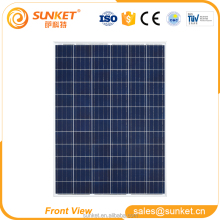 grade A Polycrystalline pv solar cell panel 210w 200w solar panel lift
