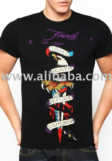 ED T-shirt for men CA shirt men's ed t shirt 2010 hot sale Tee