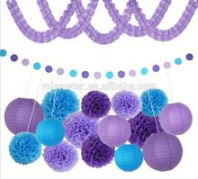 A-0207 Purple Theme 1ST 2TH 16TH 18TH 21TH 30TH party favor indoor birthday party decoration