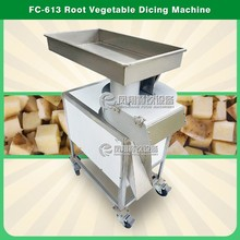 Vegetable Cutting Machine Root / Restaurant Potato Dicing Machine / Carrot Dicer Machine for Kitchen