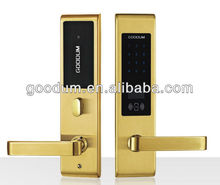 High security electronic touch Screen keypad door lock for office home department from Shenzhen Manufacturer