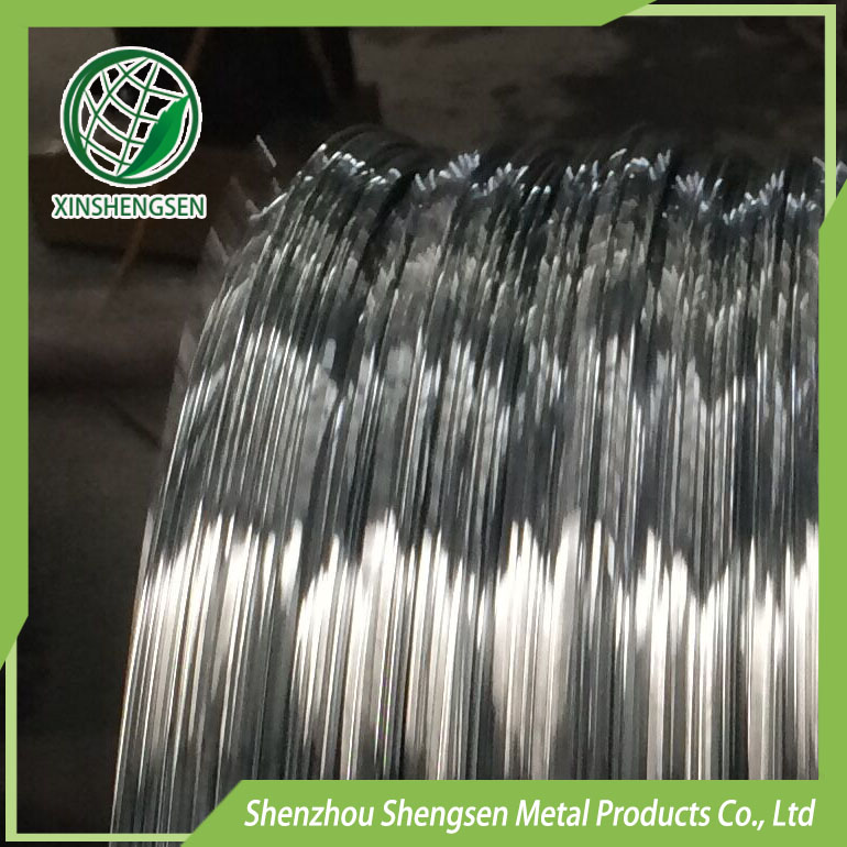 low carbon steel hot dip gi wire / 500kg hot dip galvanized wire coil