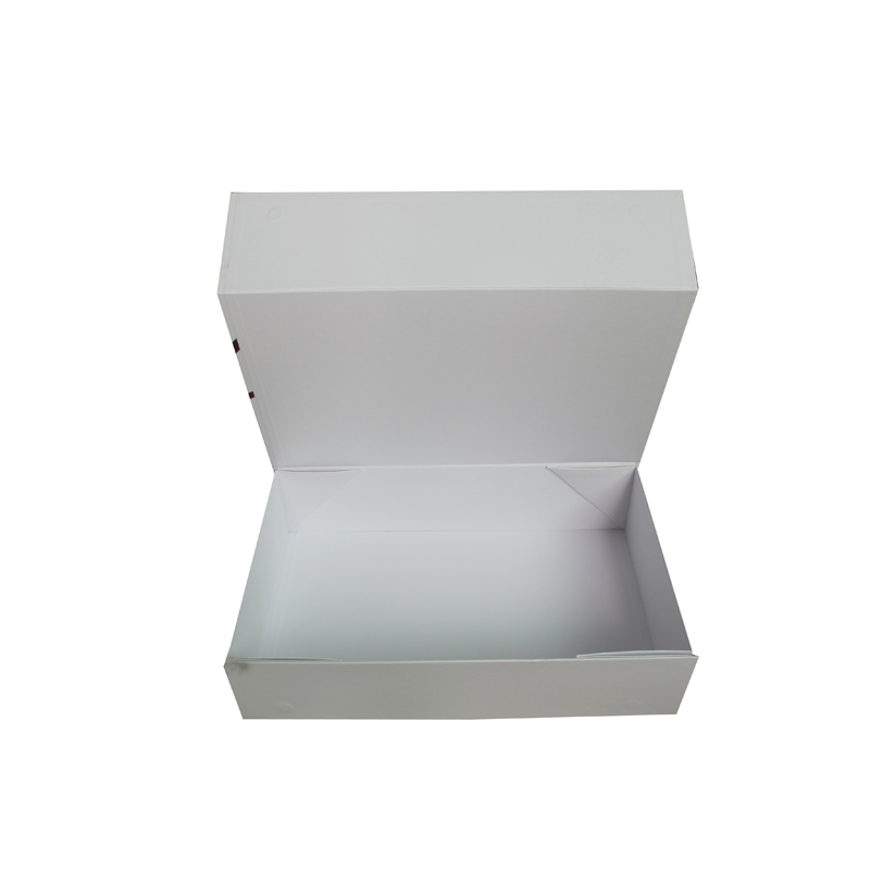New product one sheet foldable magnet packaging box china factory