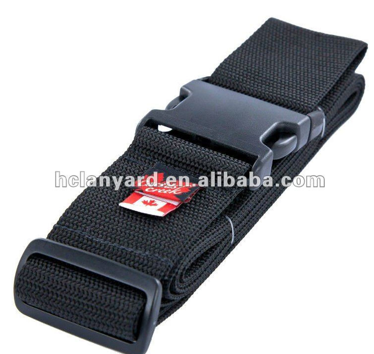 Jacquard solid color new design luggage belt