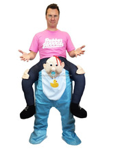 Adult Short Plush Baby Carry-On-Me Costume