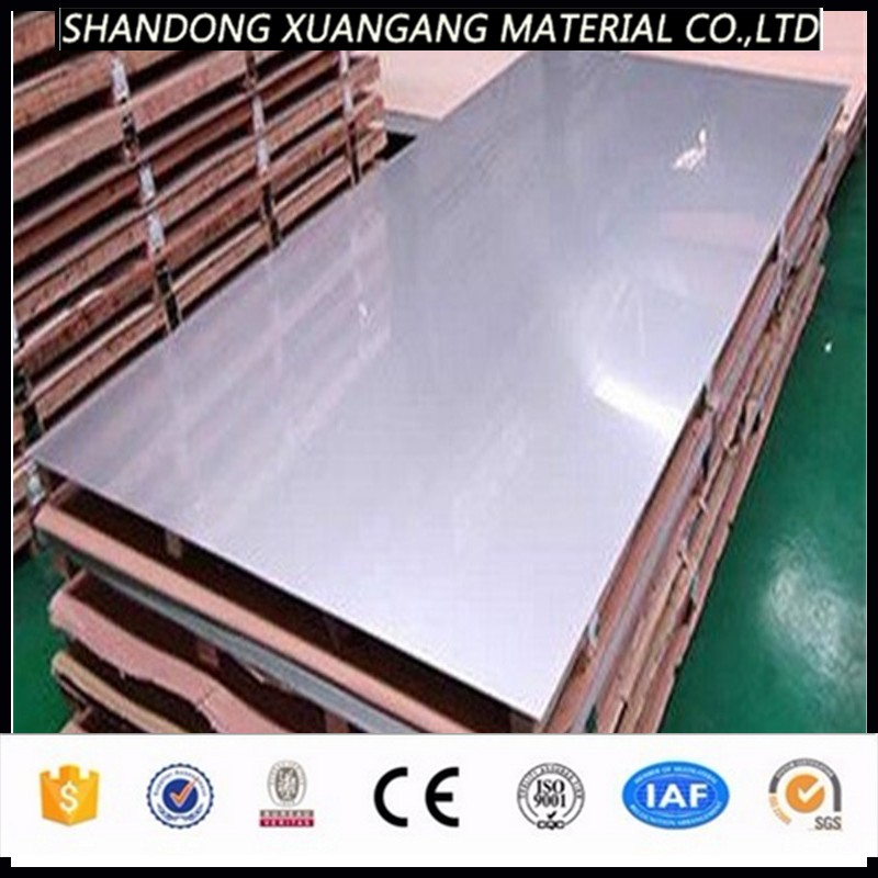 430 304 316 Grade Stainless Steel Sheets Brush No. 4 Finish Factory Price Per Piece