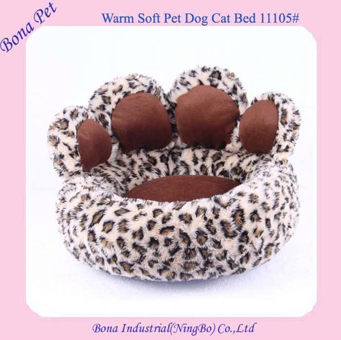 Best Selling Paw Shaped Cat Beds Bear Paw Dog Beds