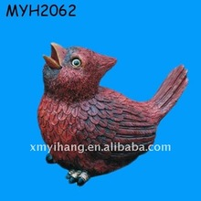 New hot sale newest popular chinese resin animals of bird