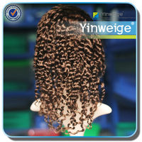 Chinese vendor u part wigs human hair