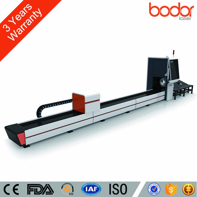 3 Years Warranty Low Price Metal Laser Tube Cutting Machine