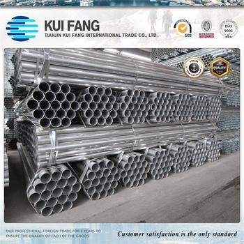 BS 1387 ROUND GI STEEL PIPES /GALVANIZED ROUND SECTIONS