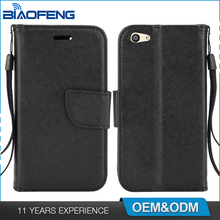 Oem Custom Universal Magnetic Card Slot Holder Wallet Flip Pu Leather Mobile Phone Case For Blu Vivo 5 Mini