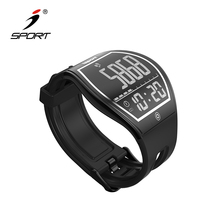 Smart Health Watch Black Large Display e-ink Watch Bluetooth W194