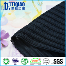 100 cotton knitted by circular machines for shirt collar fabric