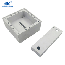 custom 6082 and 6061 aluminum cnc machining parts for machine