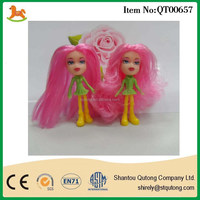 girl doll with long hair plastic sailor moon figure toy